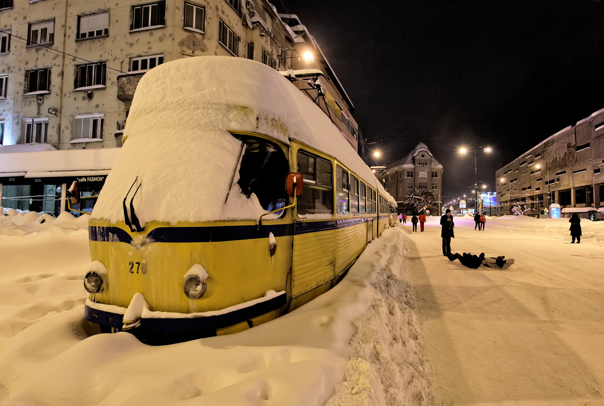 Photograph Stranded streetcar by Samir Čeligija on 500px