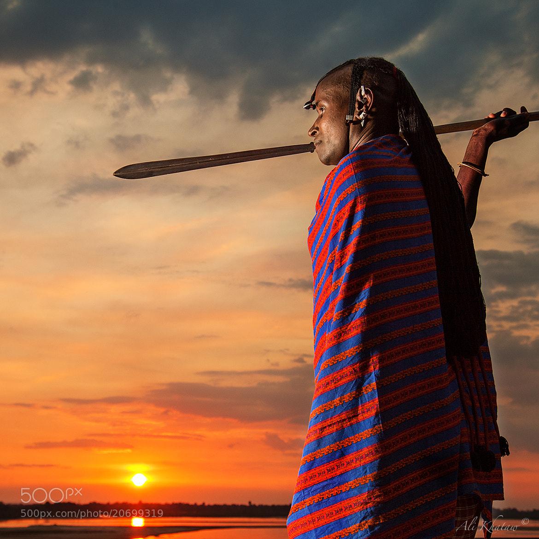 Photograph Masai Warrior by Ali Khataw on 500px