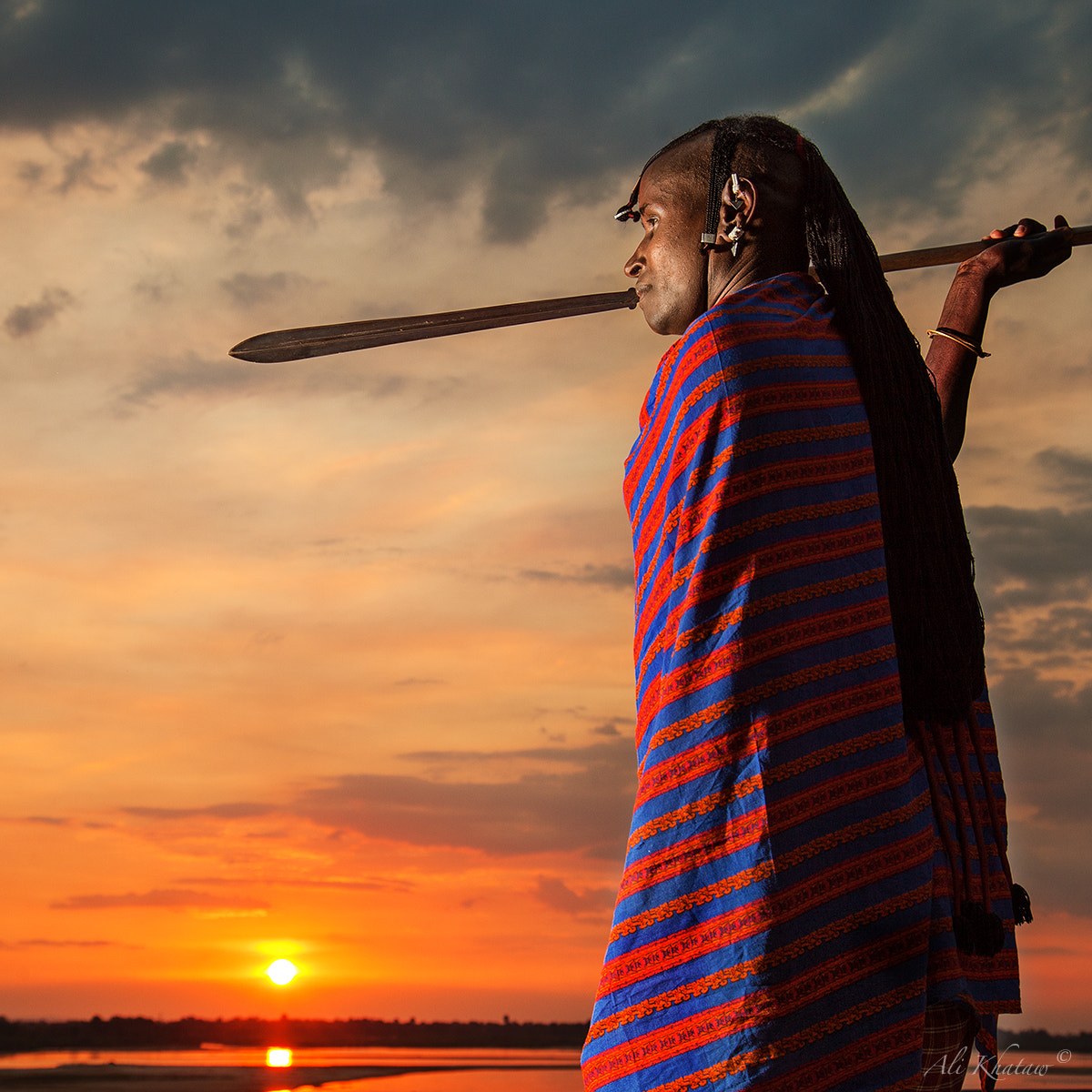 Photograph Masai Warrior by Ali Khataw on 500px