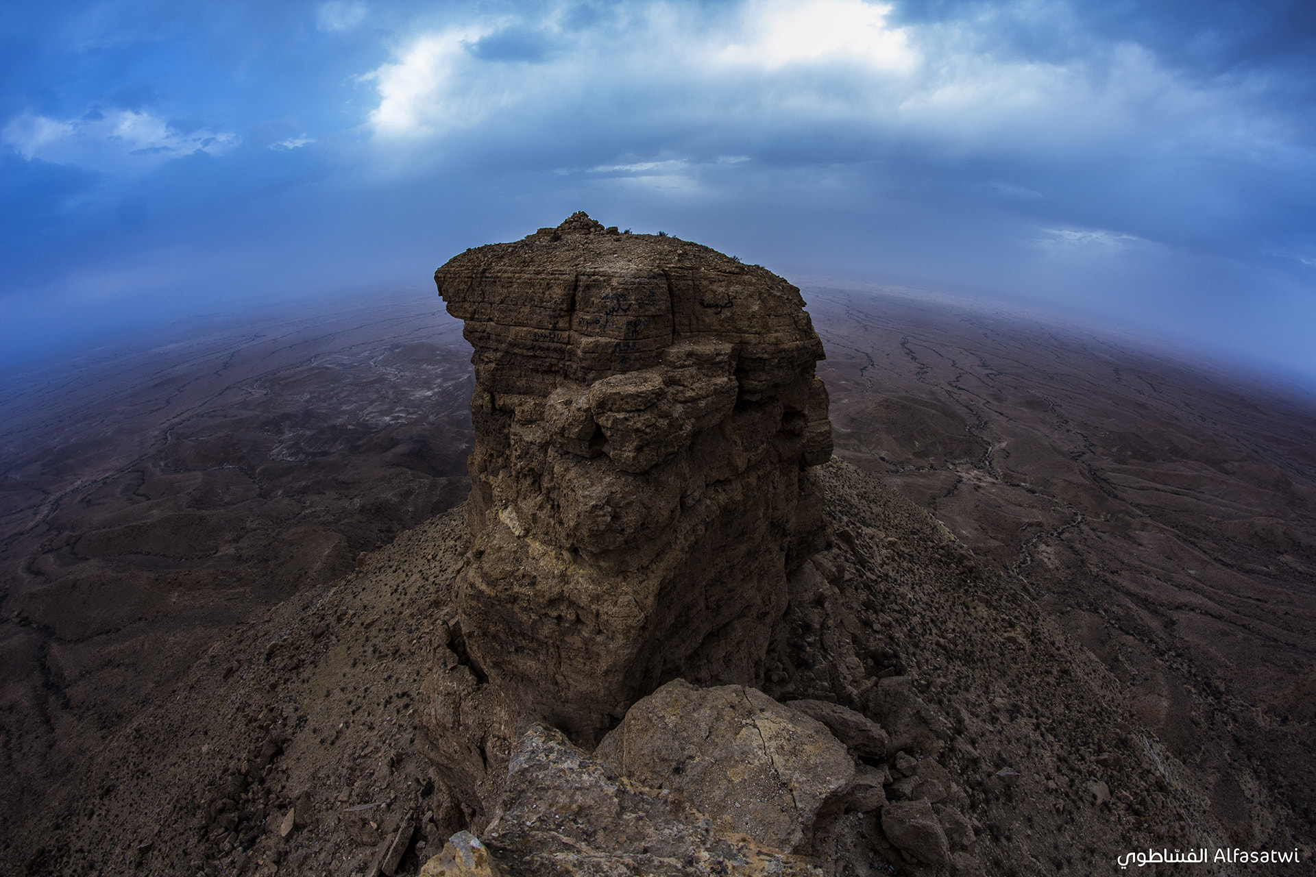 Photograph Earth, from another perspective... by Ahmed Alfasatwi on 500px