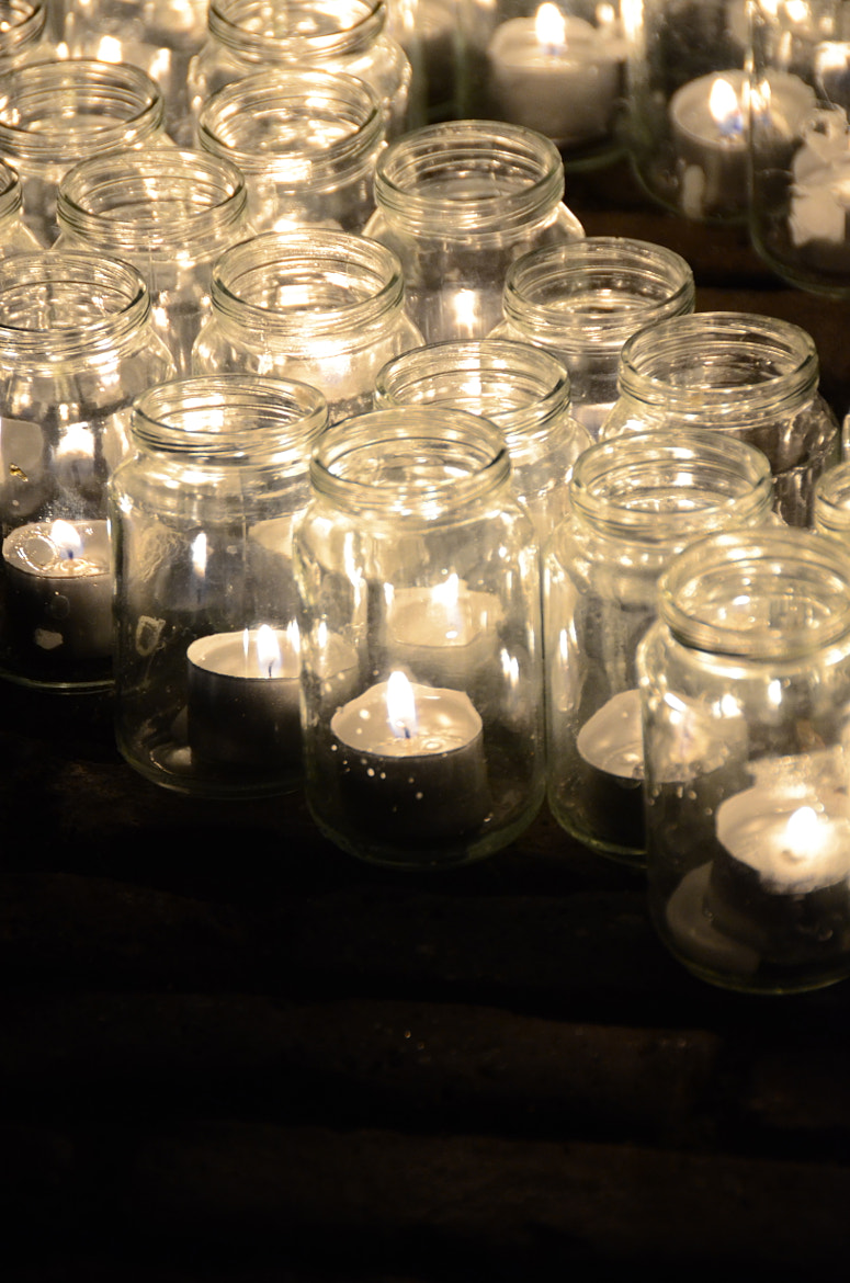 Photograph candle light in a jar by Daniel Mogendorff on 500px