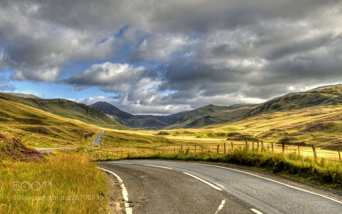 Photograph Glen Shee by Hilda Murray on 500px