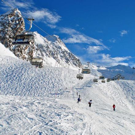 Obergurgl Hochgurgl Otztal Western Tyrol Austrian Alps Austria