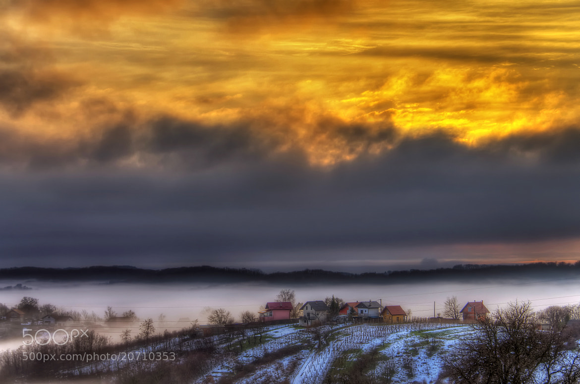 Photograph Dawn in the countryside by Boris Frkovic on 500px