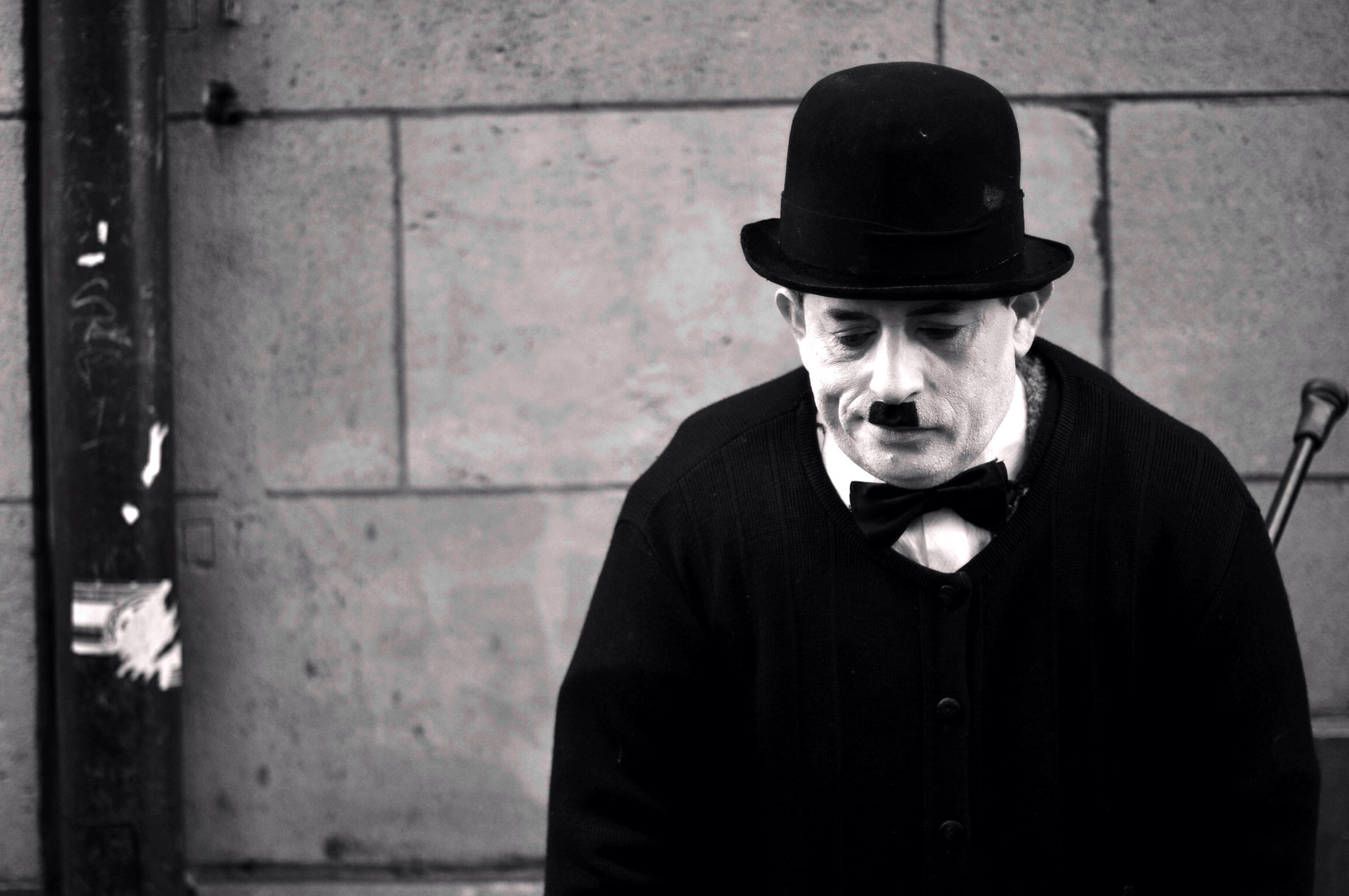 Photograph Hommage à Charlot by Giuseppe De Luca on 500px