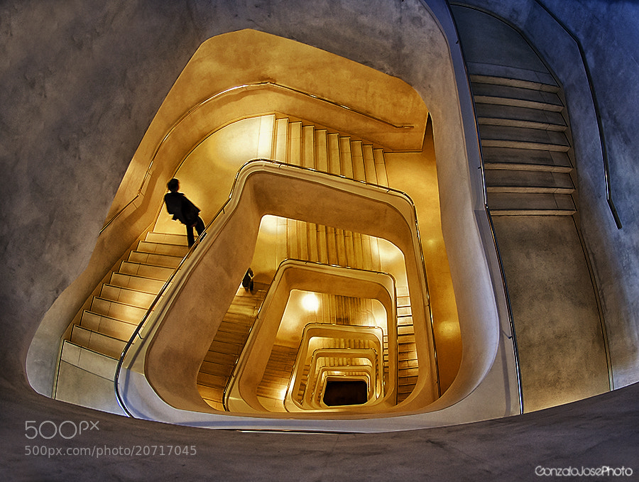 Photograph Escaleras by Gonzalo Jose Palermo on 500px