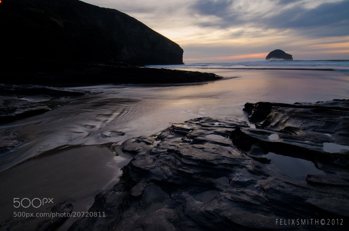 Photograph Trebarwith, Cornwall by Felix Smith on 500px