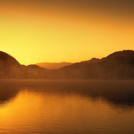 Sonnenaufgang am Fuschlsee