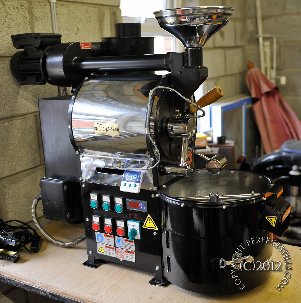 Photograph Toper Coffee Roasting Machine by PerfectStills Martin on 500px