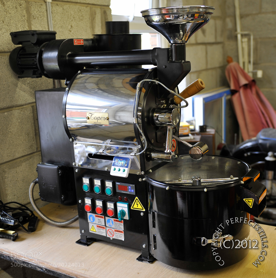 Photograph Toper Coffee Roasting Machine by PerfectStills  on 500px