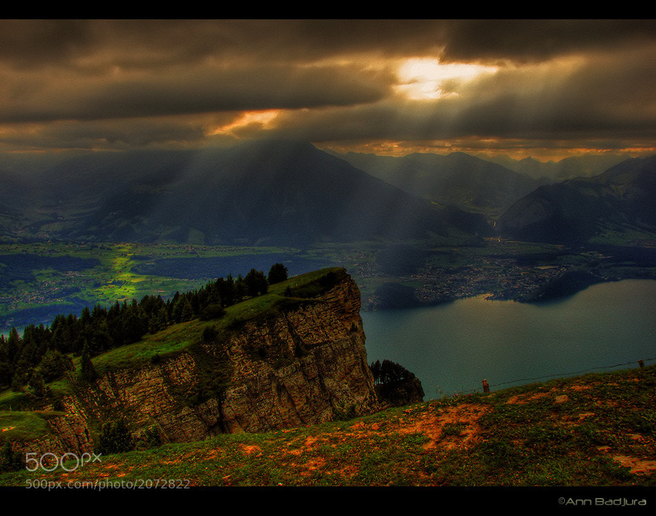 Photograph Swiss Sun Rays by Ann Badjura on 500px