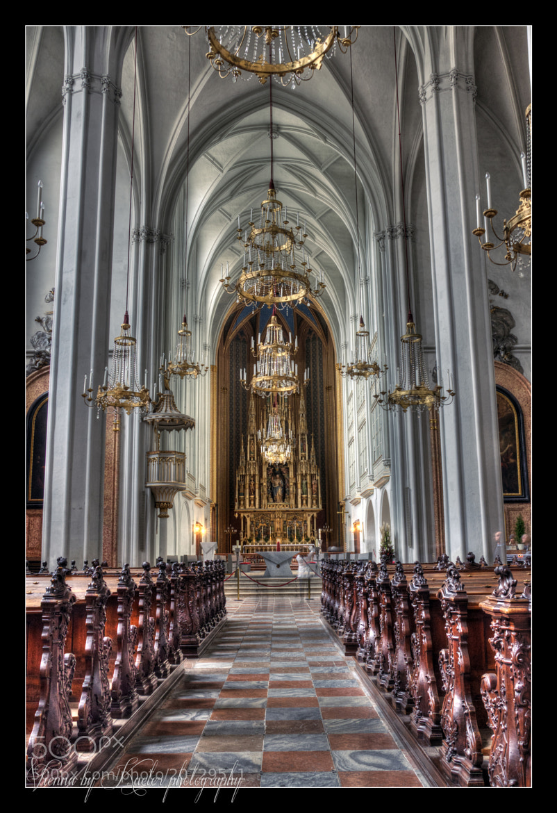 Photograph St. Augustin Vienna by Kate Eleanor Rassia on 500px