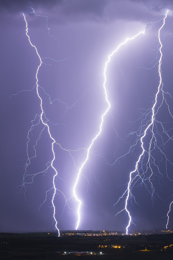 Lightning Bombardment by Jure Batagelj on 500px.com