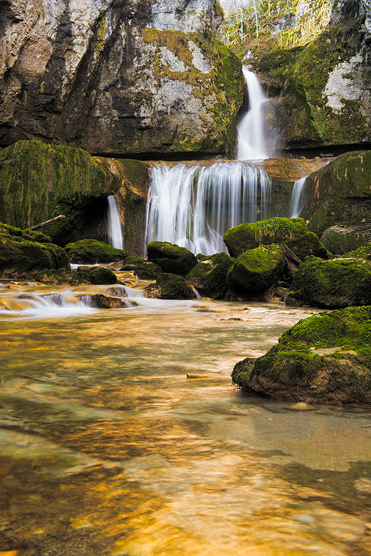Photograph Cascade de la Billaude  by Arnold Moolenaar on 500px