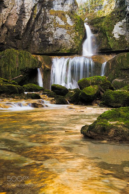 Photograph Cascade de la Billaude  by Arnold Moolenaar on 500px
