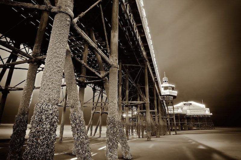 Photograph Under the Pier by Owen G on 500px