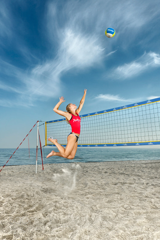 Photograph Beachvolley by Morten  Olsen on 500px