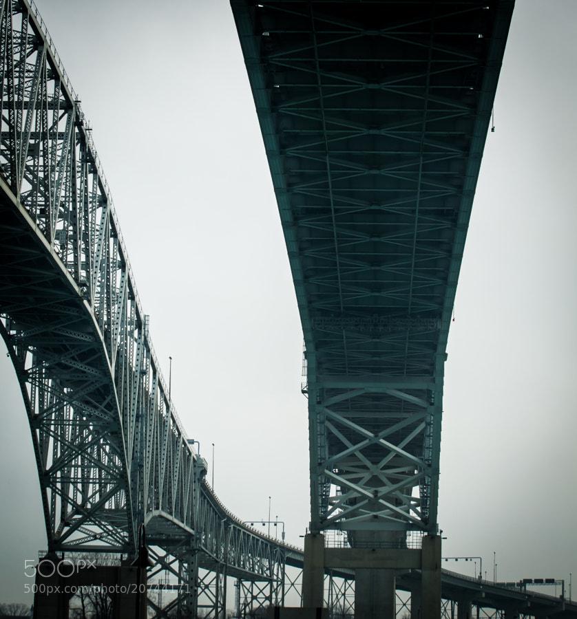 Blue Water Bridge, Port Huron MI/Sarnia Ont.