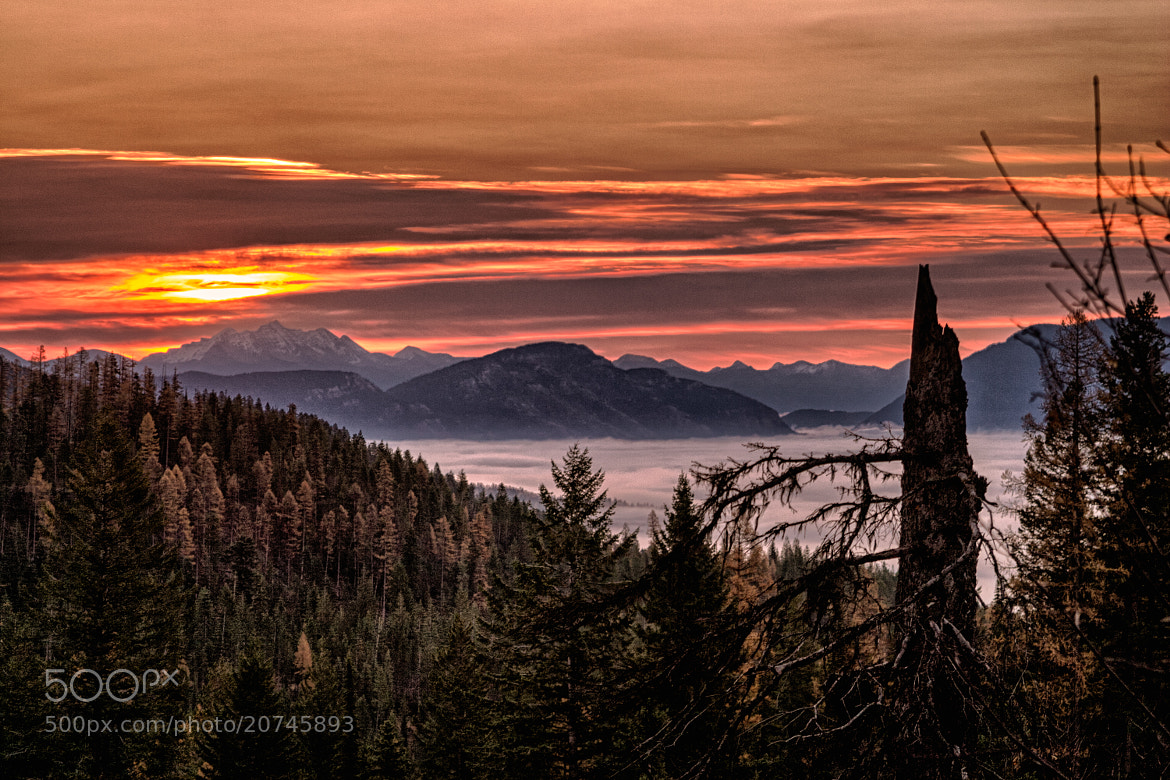Photograph Great Northern Mountain Sunset by Dave Gaylord on 500px