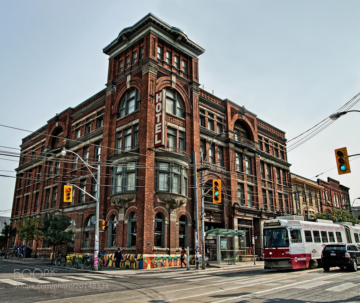 Photograph The Gladstone Hotel in Toronto.. by Ort Baldauf on 500px