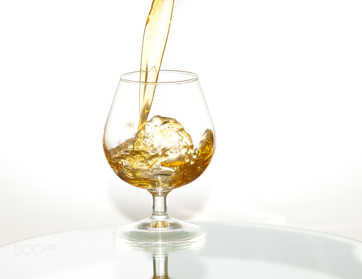 Photograph Brandy Pour by Richard Gailey on 500px