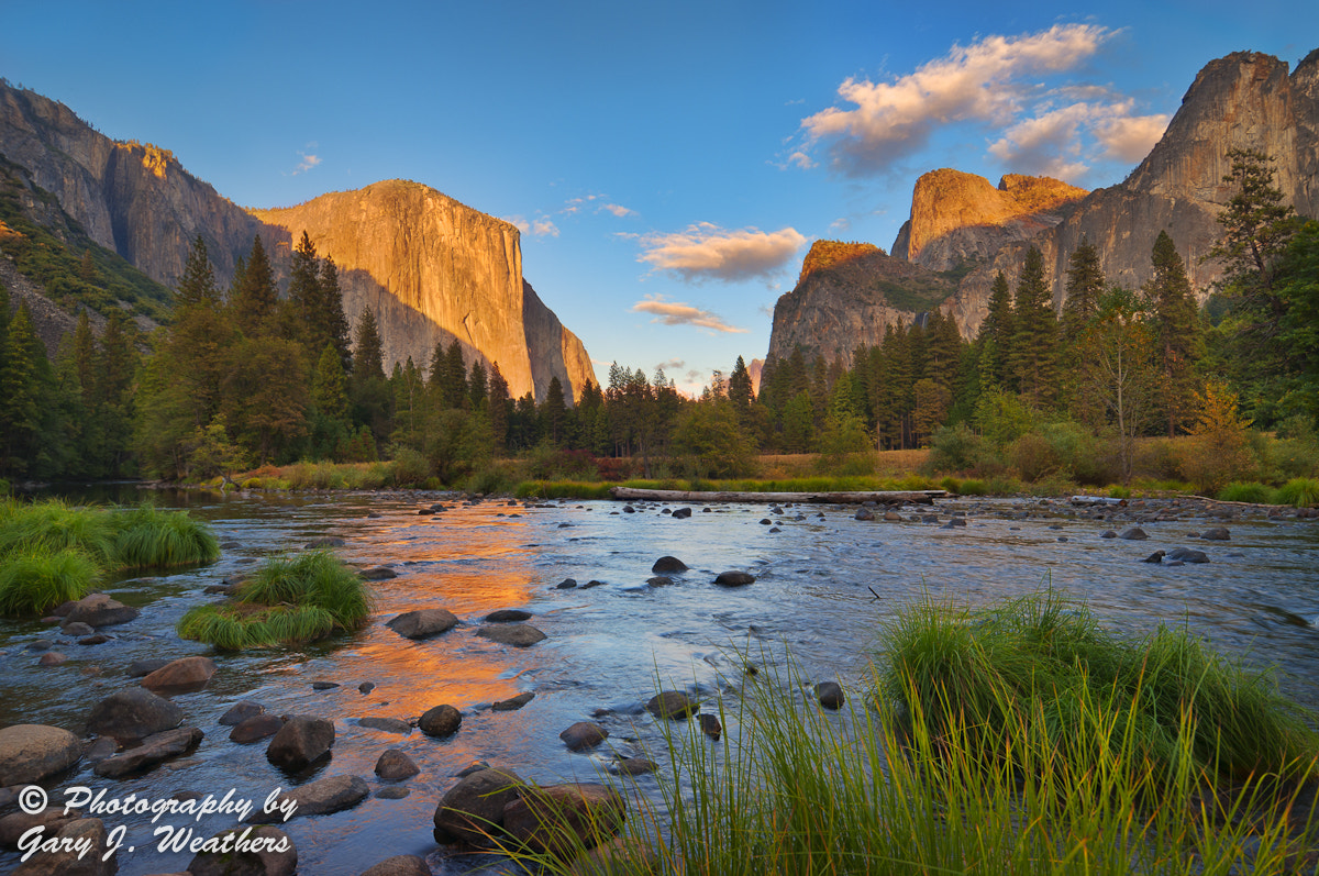 Photograph El Capitan/Merced River Sunset by Gary Weathers on 500px