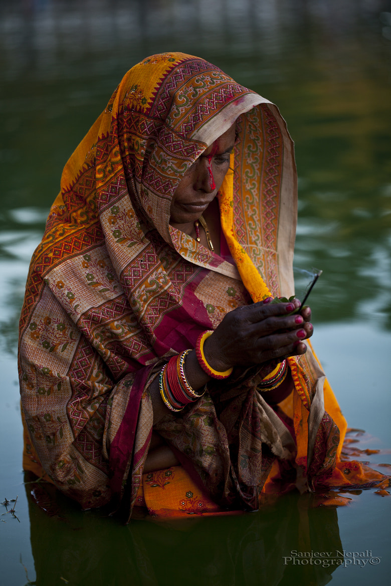 Photograph A hindu devotee performing ritual  by Sanjeev Nepali  on 500px