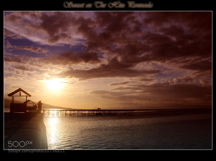 Photograph Sunset onThe Hitu Peninsula by Muhammad Asriadi on 500px