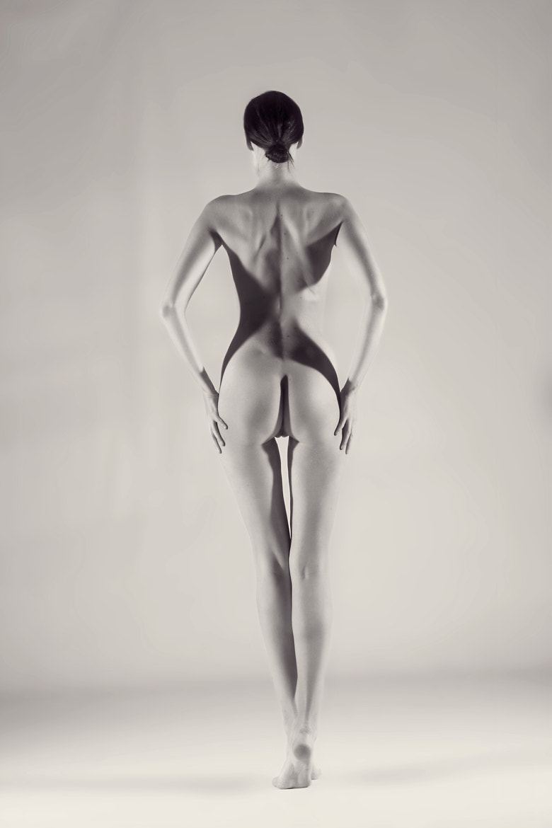 Photograph The Figure and the Lights by Donald Gibbs on 500px