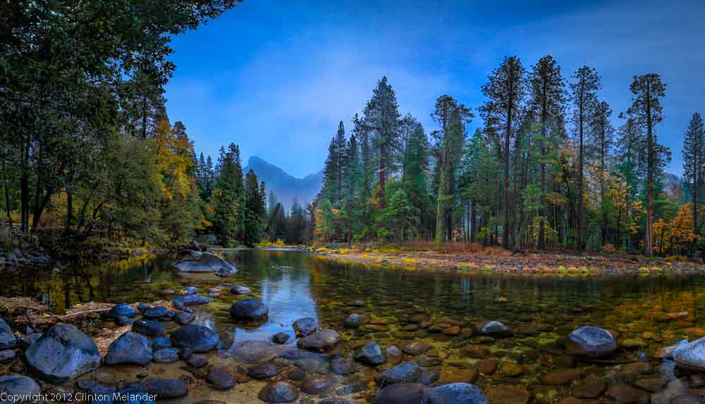 Photograph Yosemite Merced River Rock Reflections by Clinton Melander on 500px