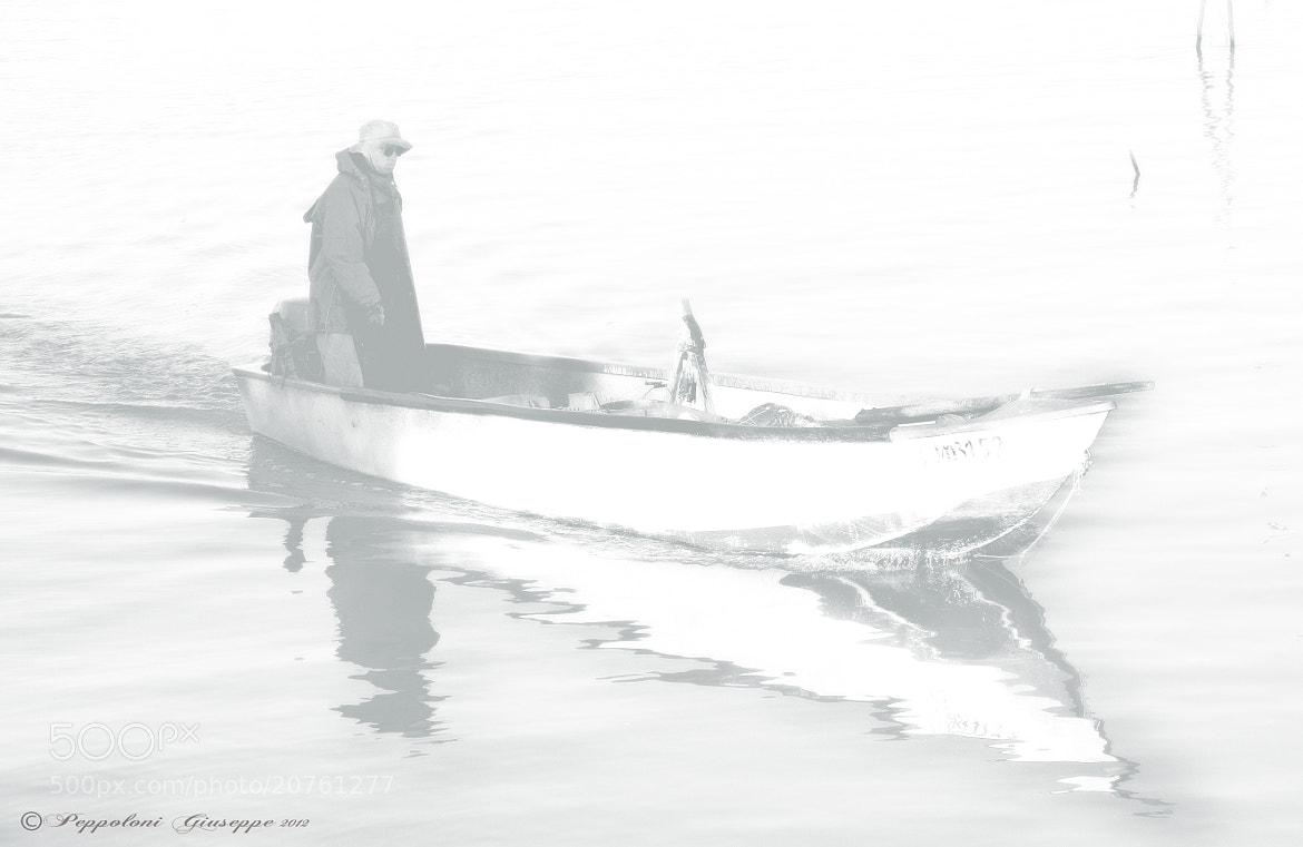 Photograph The fisherman by Giuseppe  Peppoloni on 500px