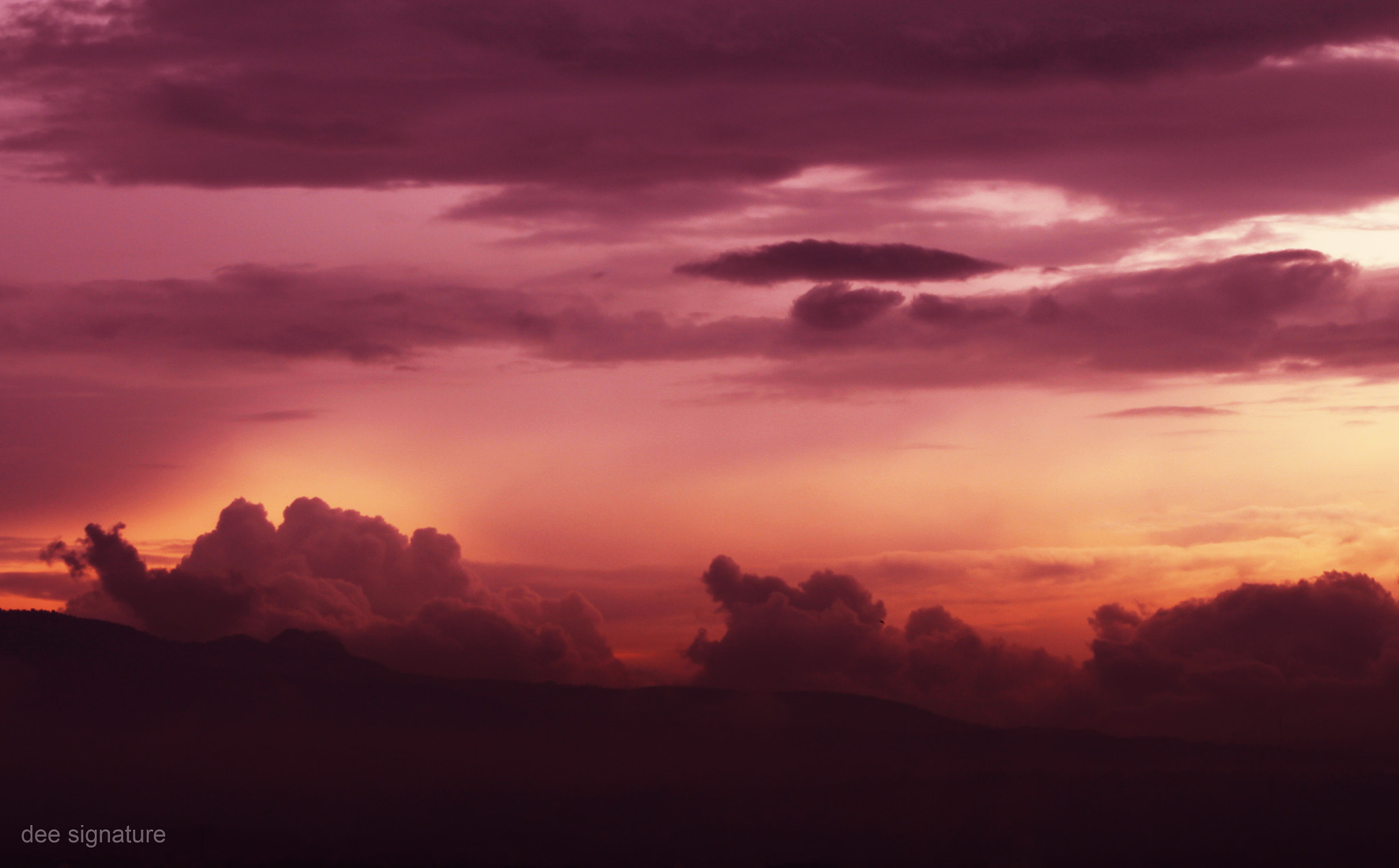 Photograph this is my sky by dee signature on 500px