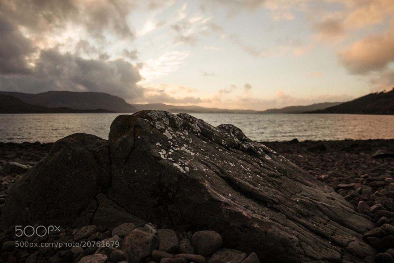 Photograph Rocky Sunset by Dan James on 500px