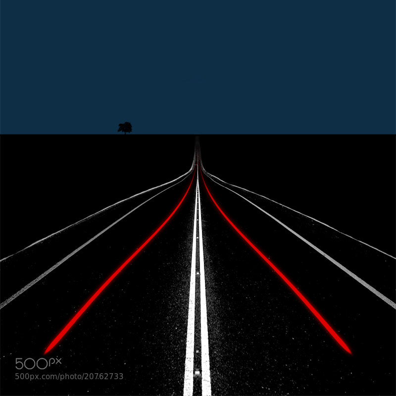 Photograph Red Line by Hossein Zare on 500px