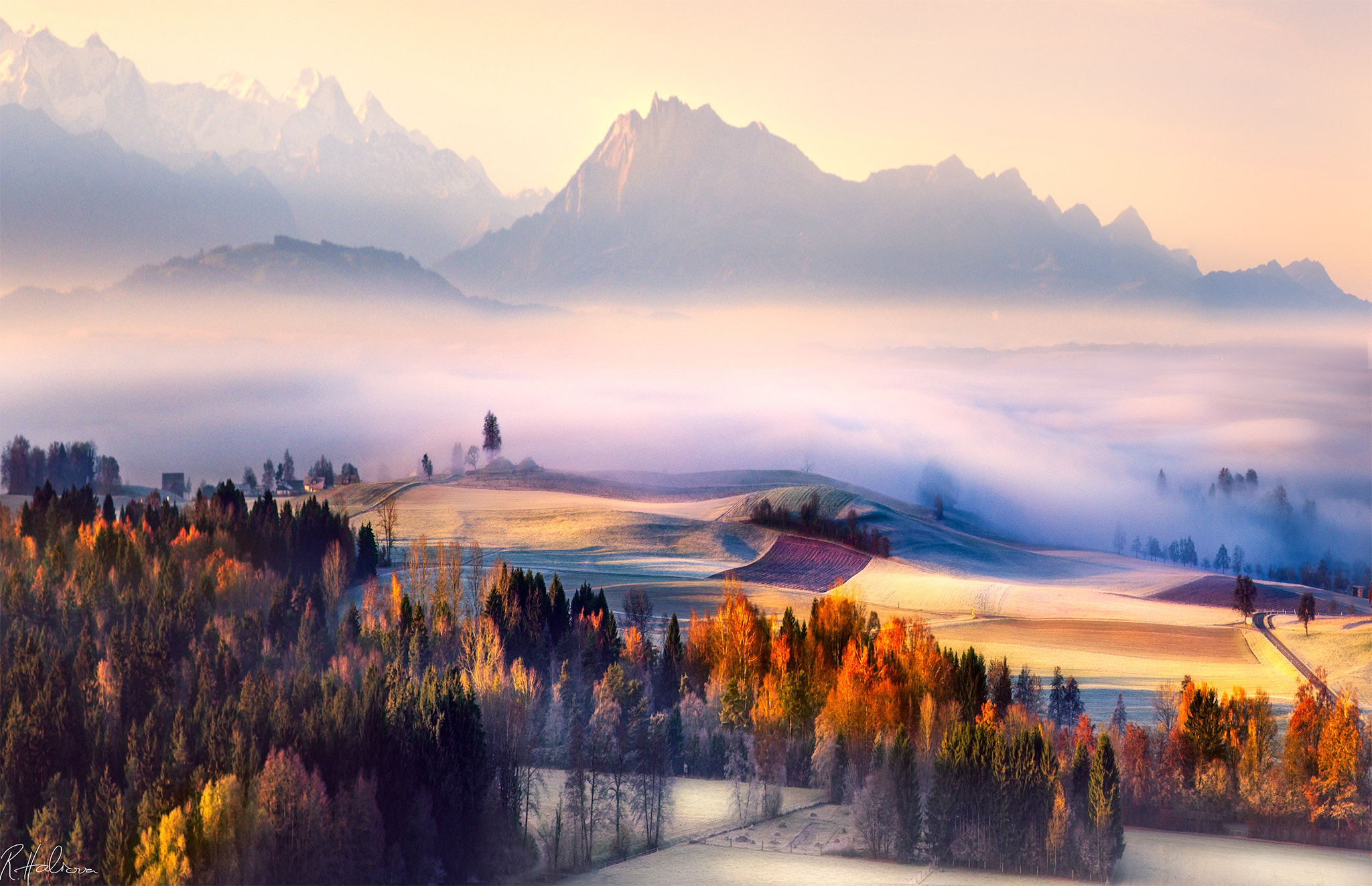 Photograph Autumn Morning by Robin Halioua on 500px