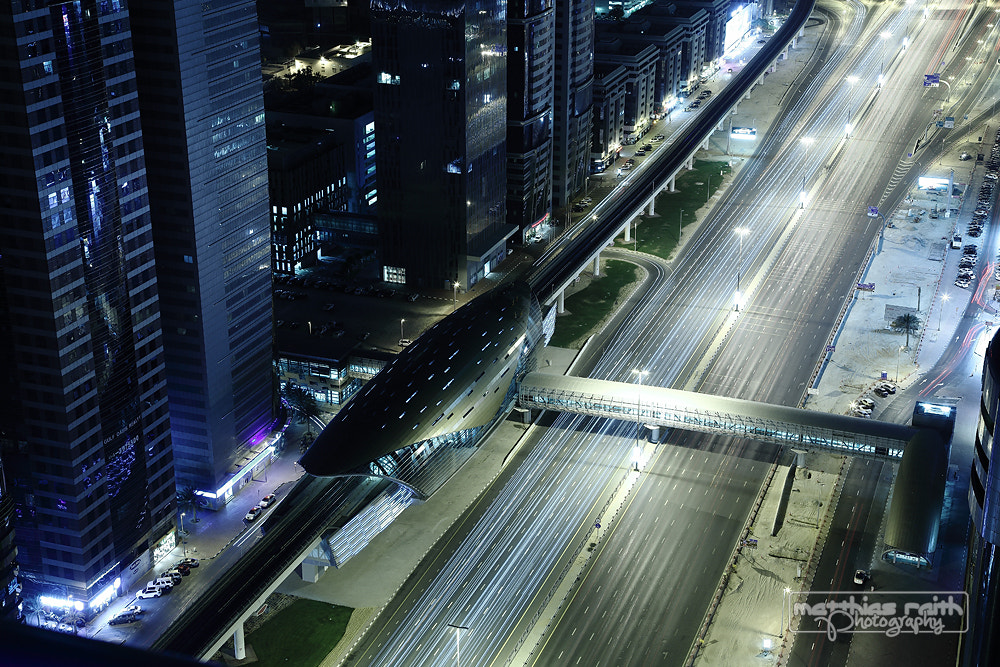 Photograph Spaceship Zayed Road by Matthias Raith on 500px