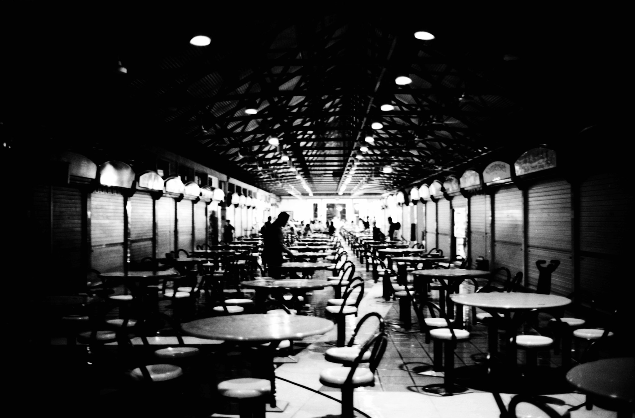 Photograph Maxwell Hawker's Centre by Gary  Wang on 500px