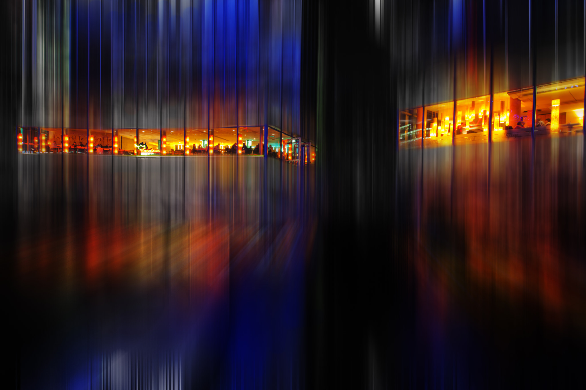 Photograph abstract night in Berlin by Christian Müller on 500px