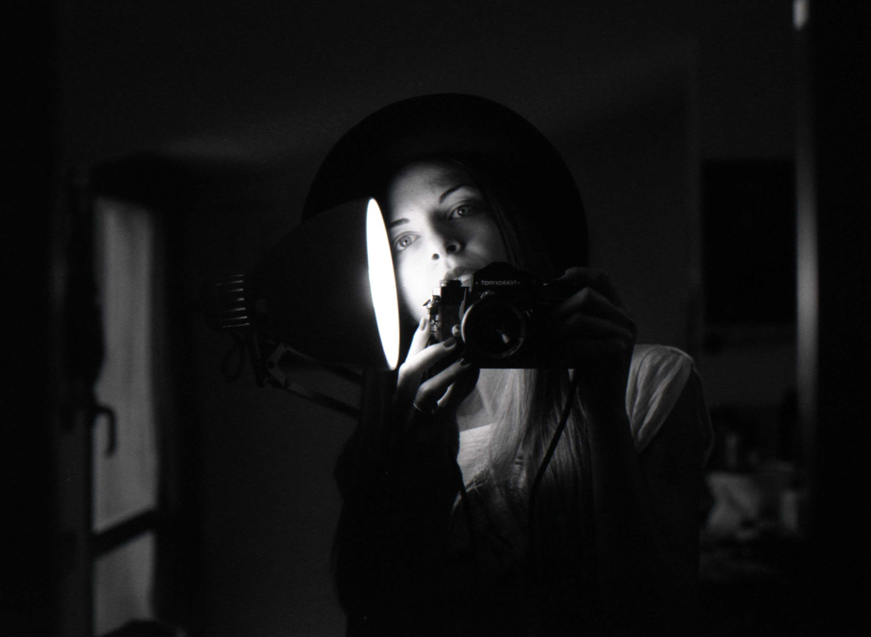 Photograph Self portrait with nikkormat by Luna Simoncini on 500px