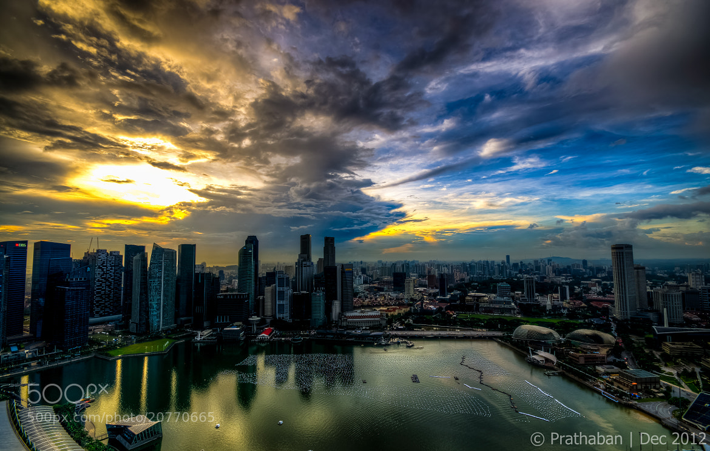 Photograph Cloudy sunset by Prathaban Umapathysarma on 500px