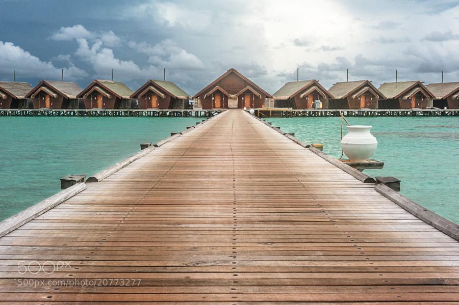 Photograph Cloudy on Maldives by Alyaksandr Stzhalkouski on 500px