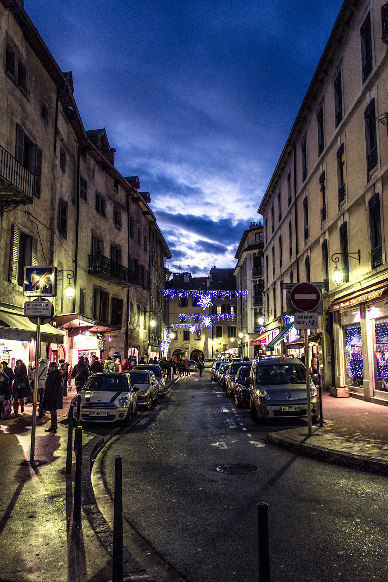 Photograph Annecy by Night by La Crapule  on 500px