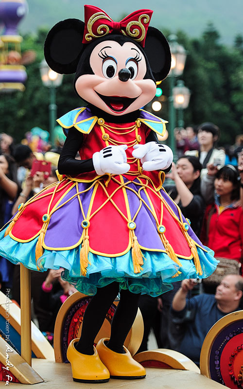 Photograph Hong Kong Disneyland parade by Andy Fu on 500px