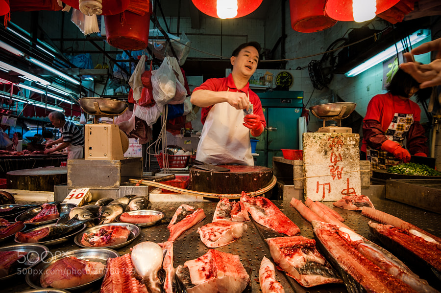 Photograph Fishmonger by JX K on 500px
