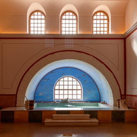 Old Roman spa