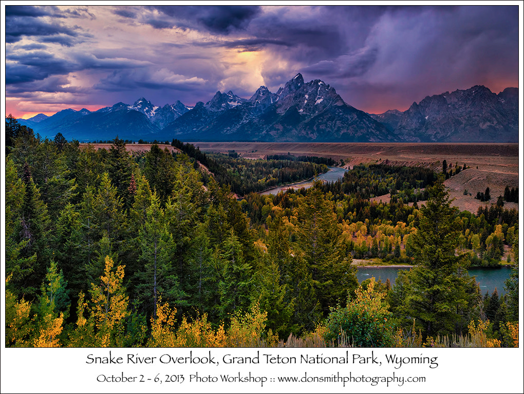 Photograph Fall Grand Teton Workshop by Don Smith on 500px