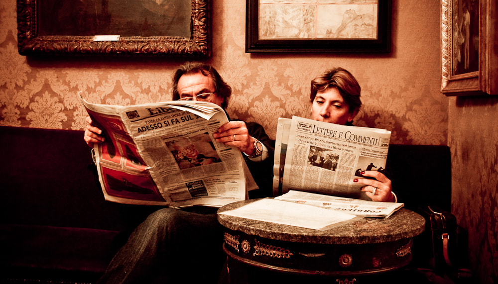 Photograph The Readers by John Armstrong-Millar on 500px
