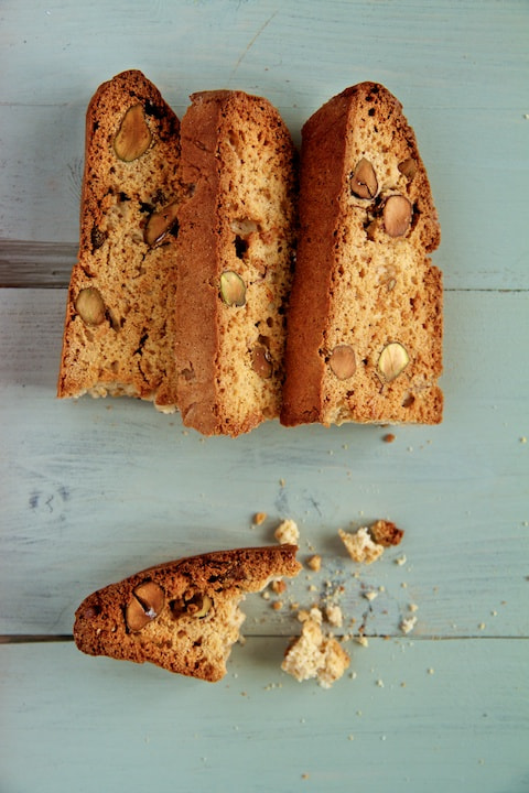 Photograph Honey, Pistachio & Orange Biscotti by Toby Kennedy on 500px