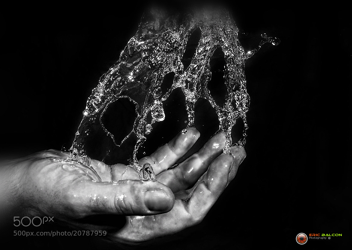 Photograph a Hand & Water by Eric Balcon on 500px