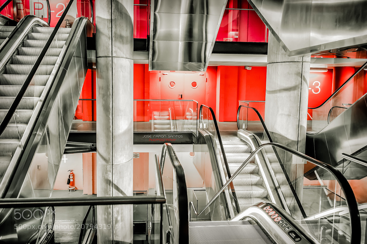 Photograph Escalator Land by Jose Ramon Santos on 500px